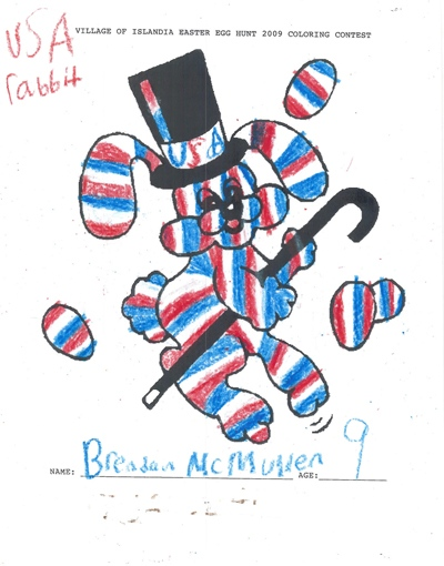 Brendan McMullen, Age 9