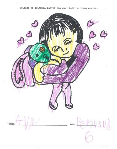 Ava Bergland, Age 6