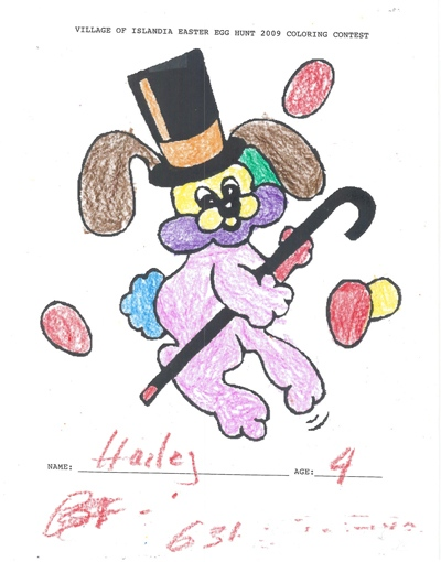 Hailey, Age 4