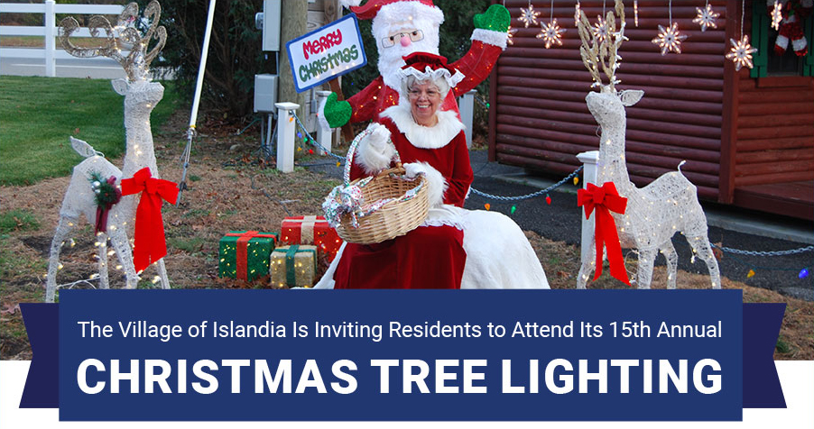 The Village of Islandia Is Inviting Residents to Attend Its 15th Annual Christmas Tree Lighting