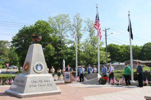 Veterans Day Ceremony / Veterans Triangle
