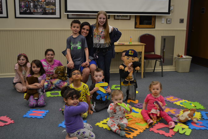 Village Hosts Inaugural Story Time Hour