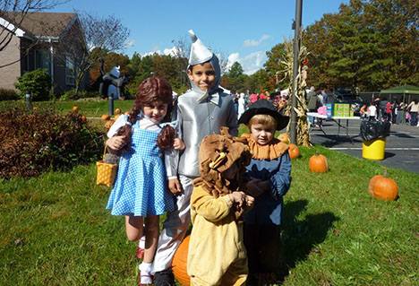Children dressed up as characters from