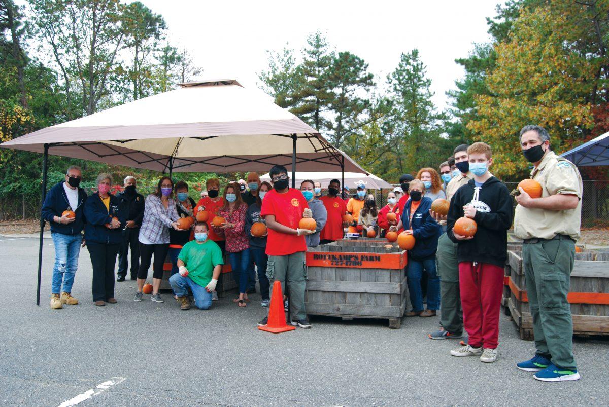 The Village of Islandia hosted a socially distanced Pumpkin Fest