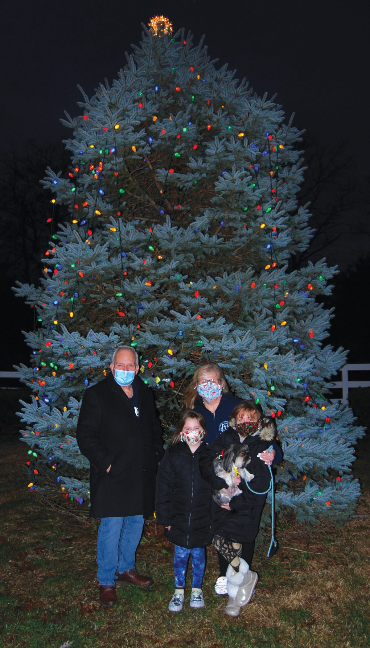 Village Celebrates the Holidays with Its First-Ever Drive-Through Christmas Tree Lighting