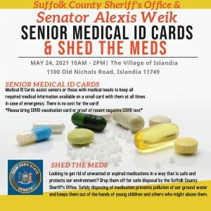 Senior Medical ID Cards & Shed the Meds @ Village Hall