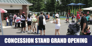 Concession Stand Grand Opening @ First Responders Recreational Ball Field