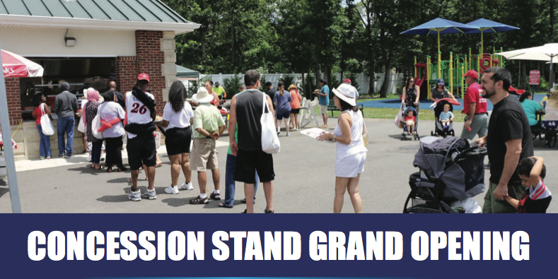 Concession Stand Grand Opening